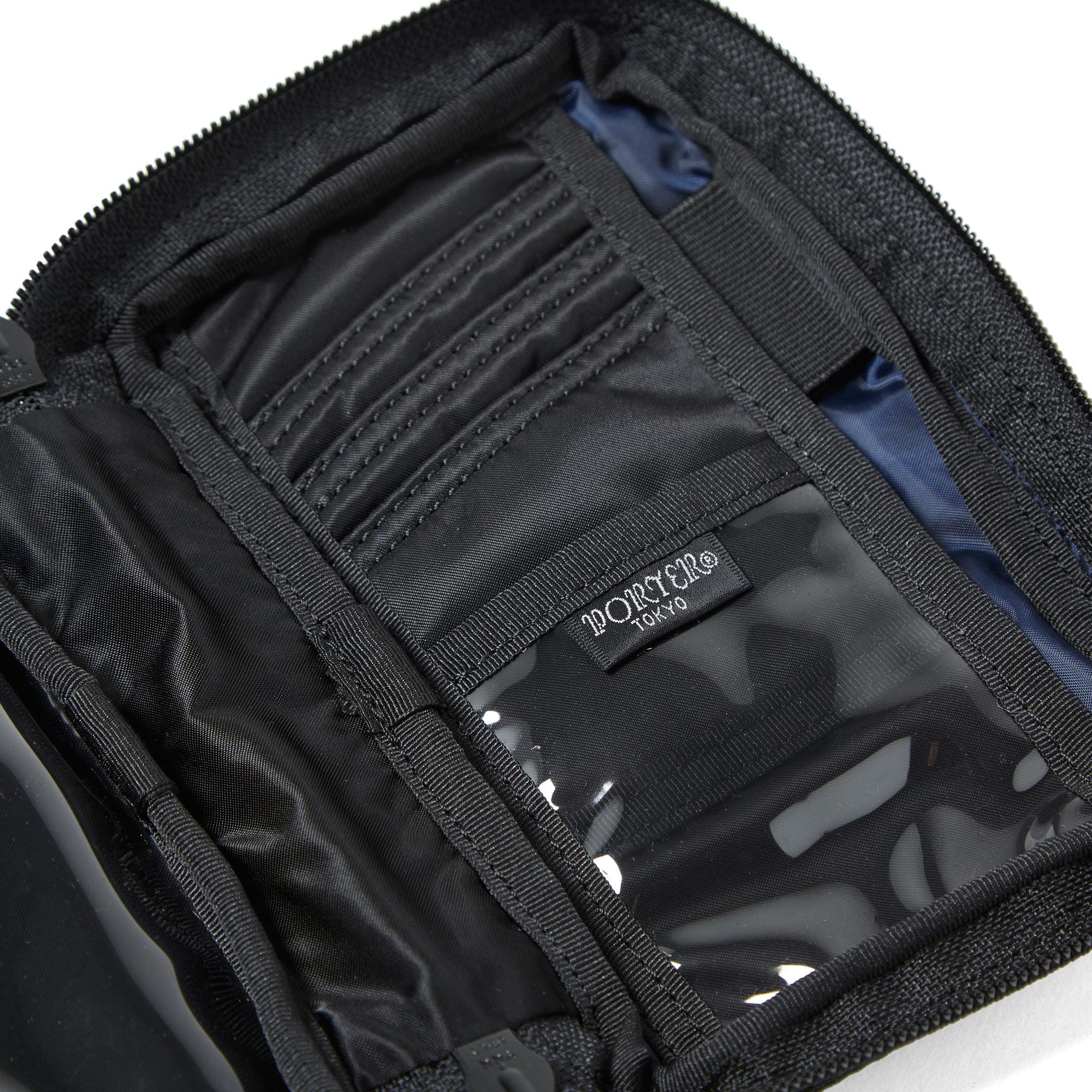 Undercover x porter zip wallet black for Undercover x porter