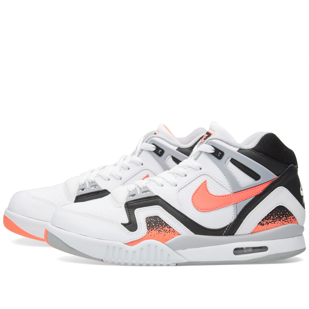 nike air tech challenge ii white hot lava. Black Bedroom Furniture Sets. Home Design Ideas