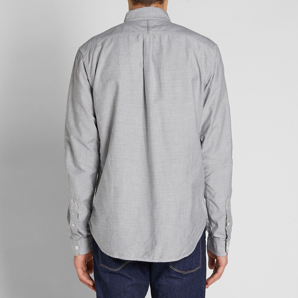 Spellbound Button Down Oxford Shirt (Light Grey)