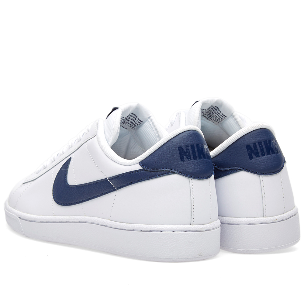 nike tennis classic cs white midnight navy. Black Bedroom Furniture Sets. Home Design Ideas