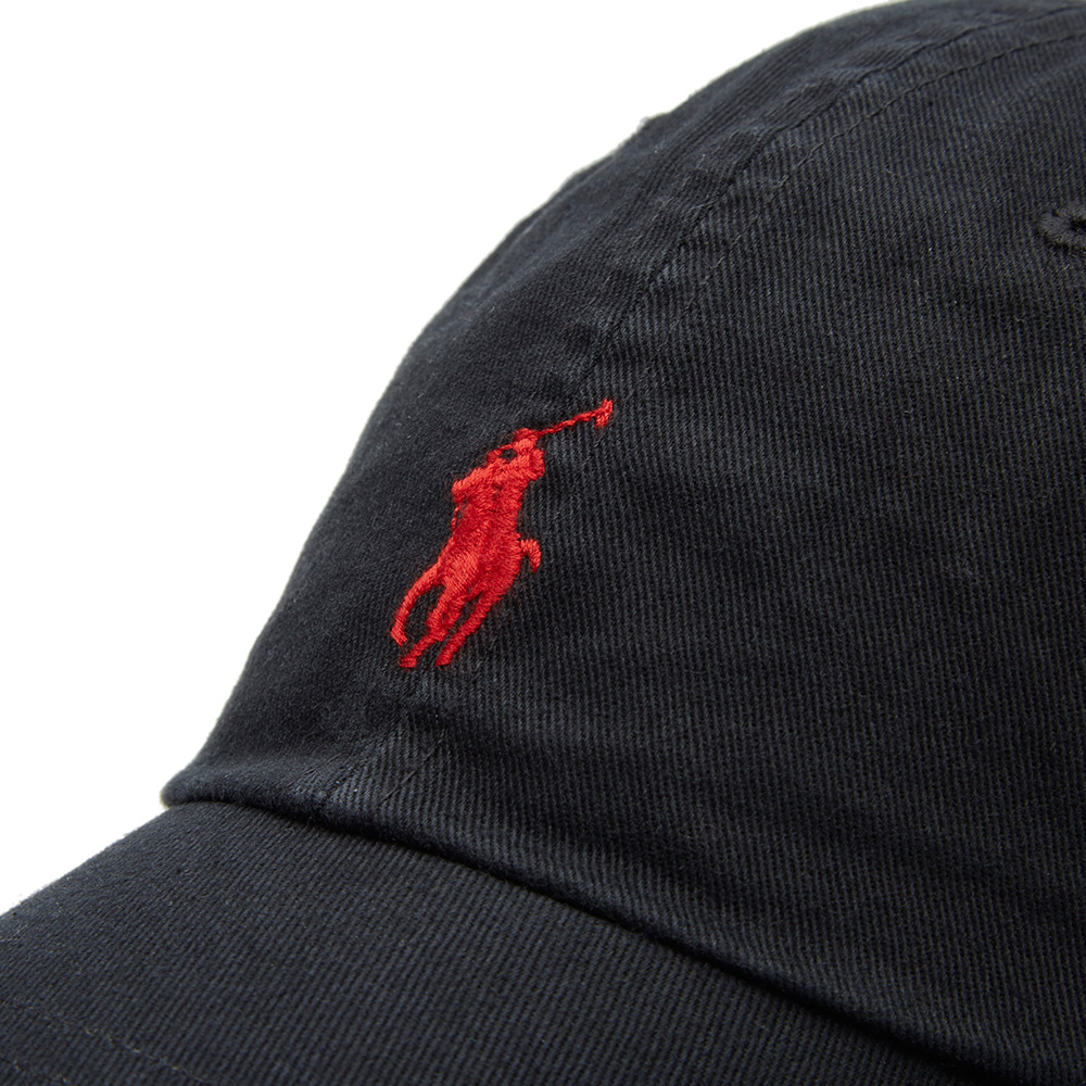 polo ralph lauren classic baseball cap black red. Black Bedroom Furniture Sets. Home Design Ideas