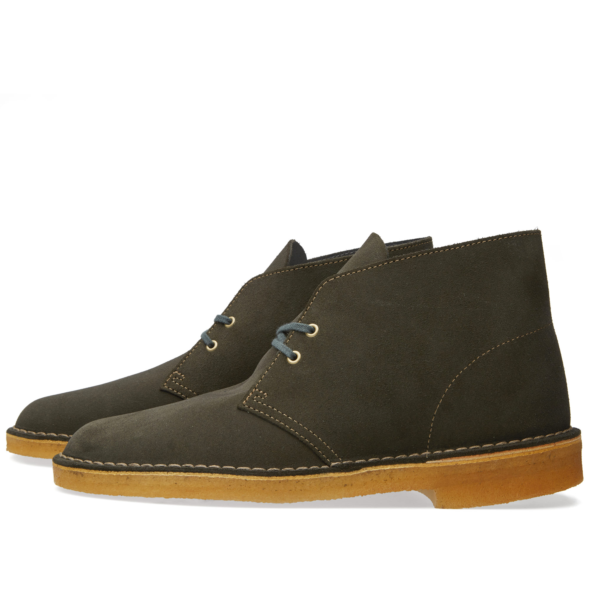 clarks originals desert boot loden green. Black Bedroom Furniture Sets. Home Design Ideas