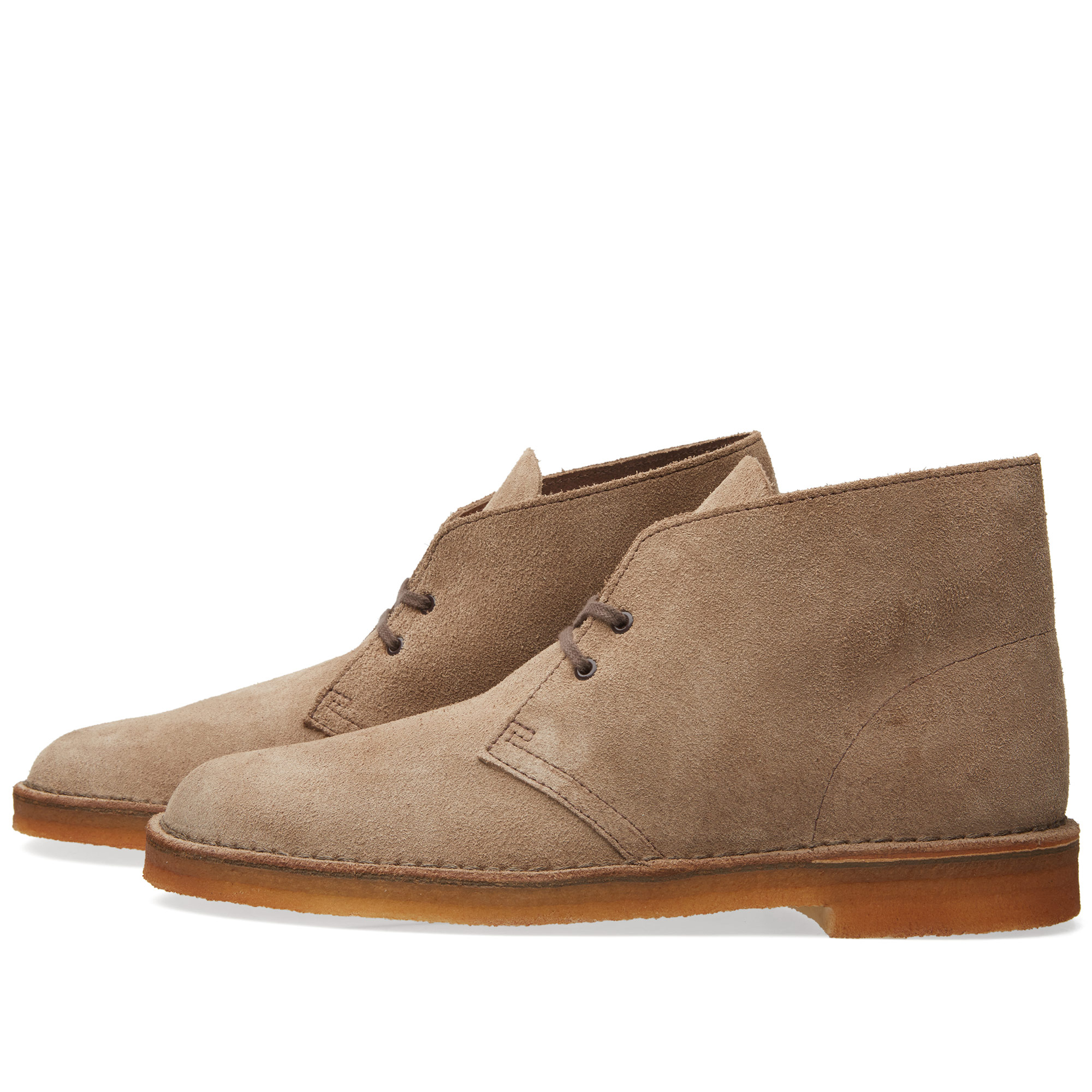 clarks originals desert boot wolf suede. Black Bedroom Furniture Sets. Home Design Ideas