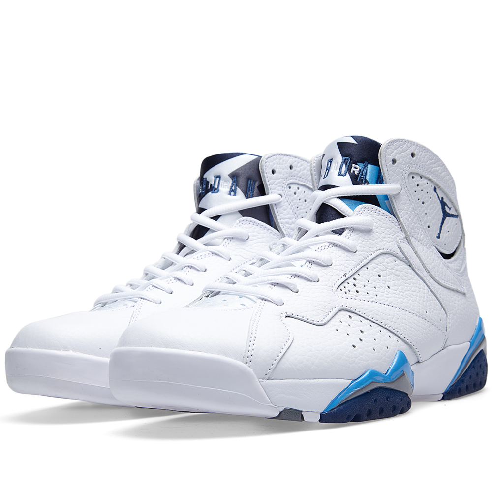 Nike Air Jordan VII Retro 'French Blue' (White & French Blue) Nike Air Jordan 7 Retro