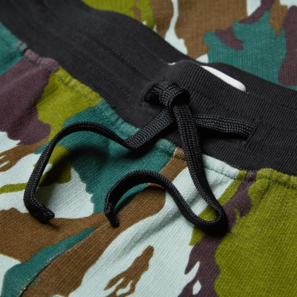 Stone Island Garment Dyed Camouflage Short (Green Camo)