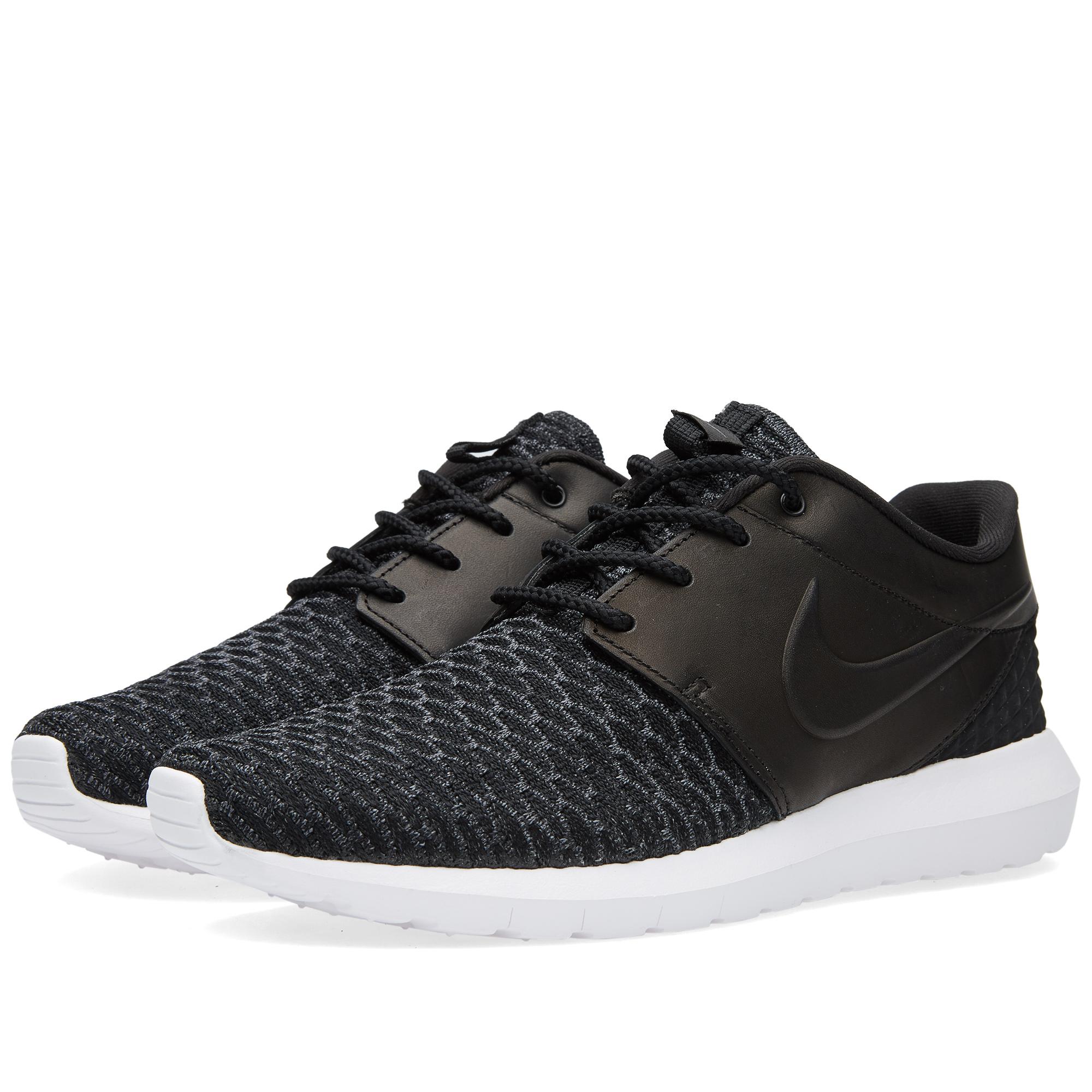 Nike Roshe Run Flyknit Premium Black