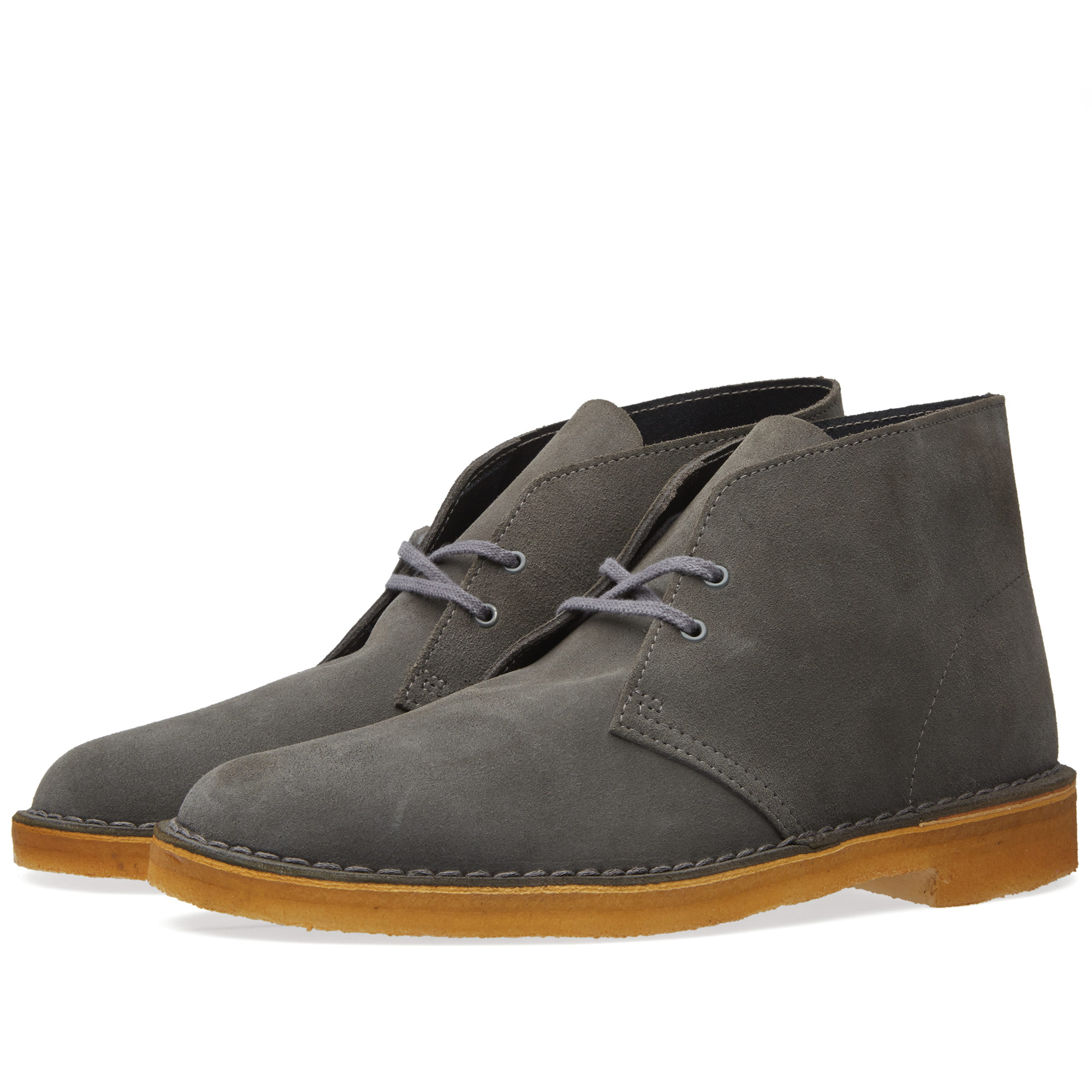 clarks originals desert boot grey suede. Black Bedroom Furniture Sets. Home Design Ideas