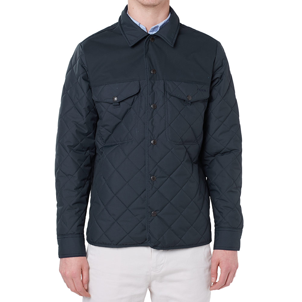 Filson Quilted Jac Shirt Jacket (Navy)
