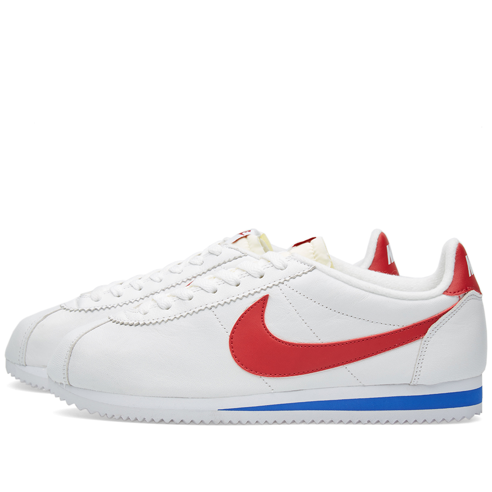 nike classic cortez premium white varsity red. Black Bedroom Furniture Sets. Home Design Ideas