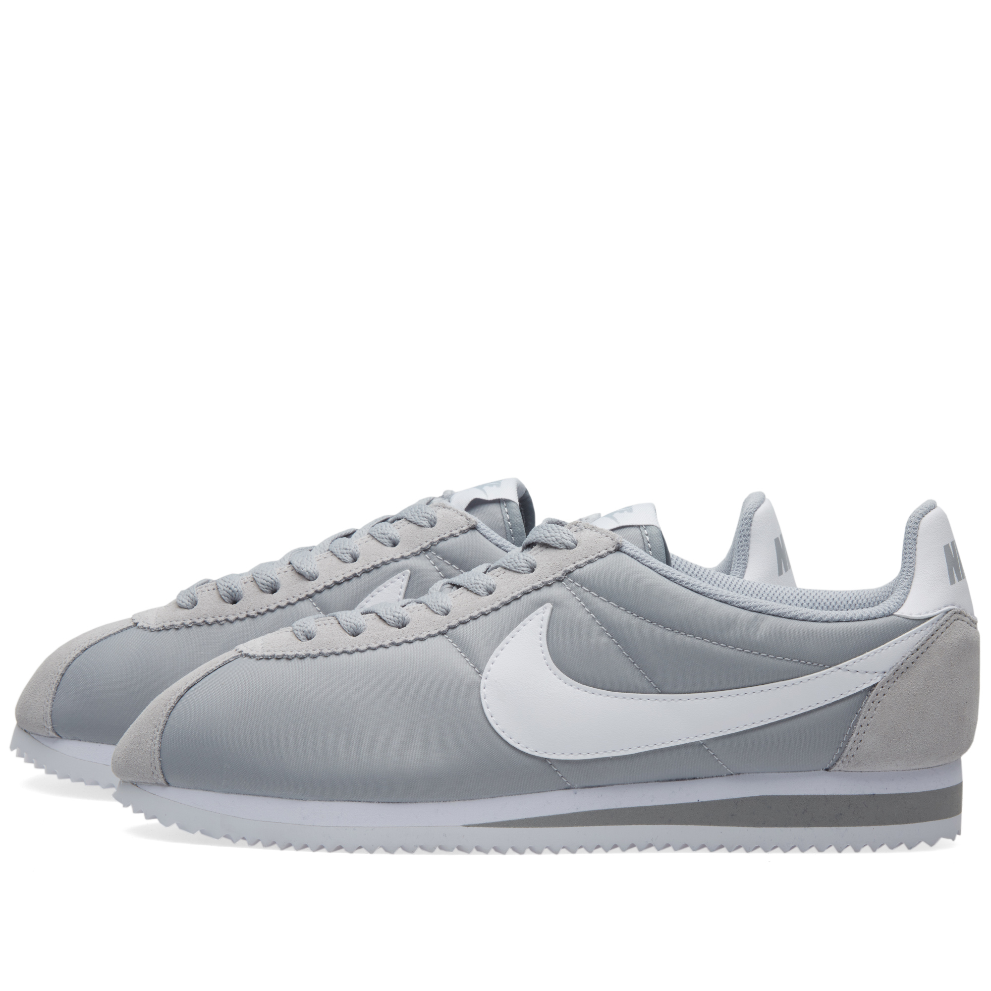 nike classic cortez wolf grey white. Black Bedroom Furniture Sets. Home Design Ideas