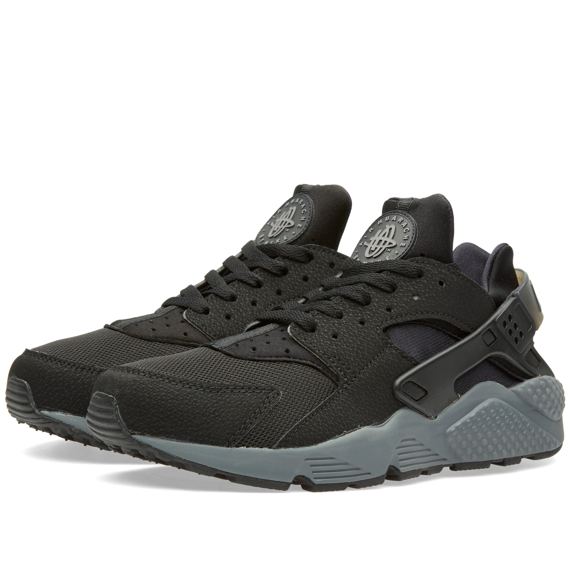 Nike Huarache Black Dark Grey