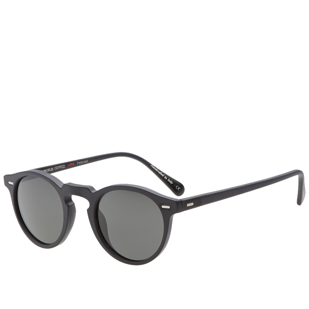 Gregory Peck Sunglasses  oliver peoples gregory peck sunglasses matte black midnight