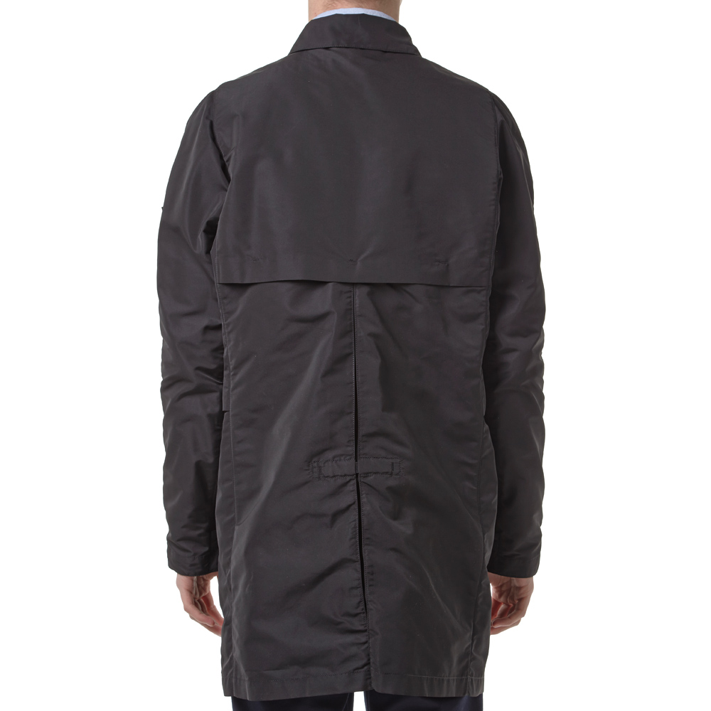 stone island shadow project trench coat black. Black Bedroom Furniture Sets. Home Design Ideas