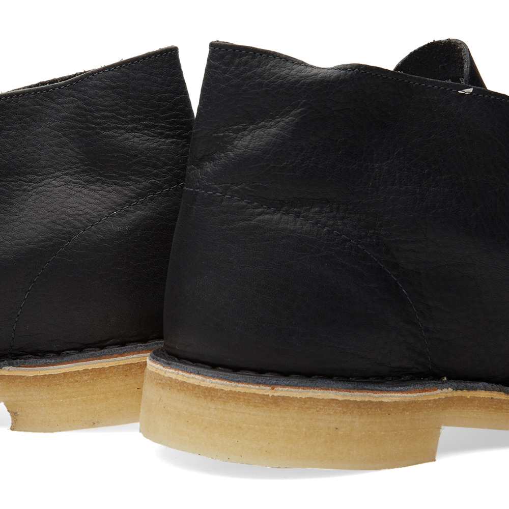 clarks originals desert boot navy leather. Black Bedroom Furniture Sets. Home Design Ideas
