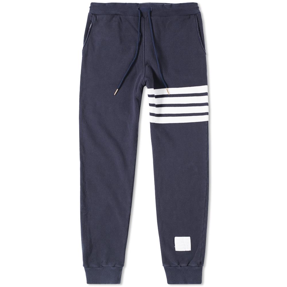Thom Browne Distressed Stripe Sweat Pant