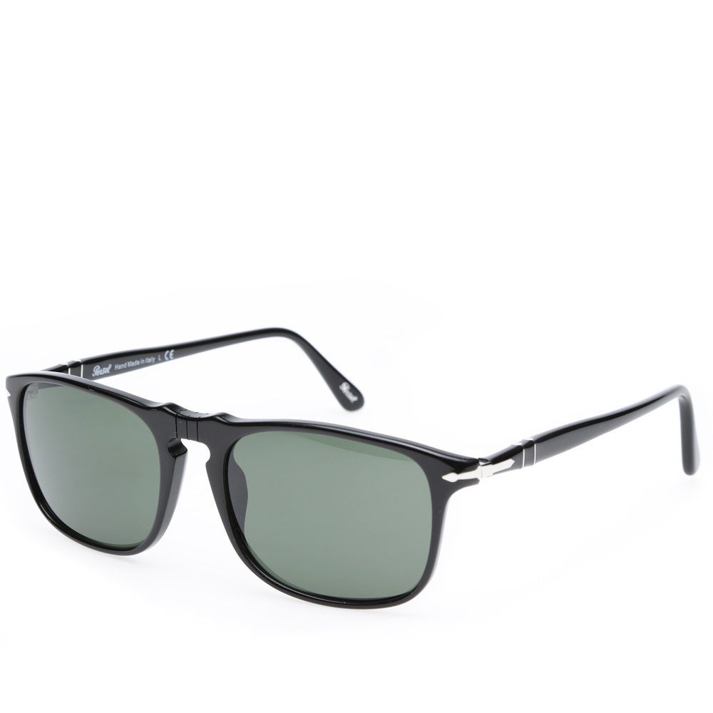 Square Framed Sunglasses  persol 3059s square framed aviator sunglasses black