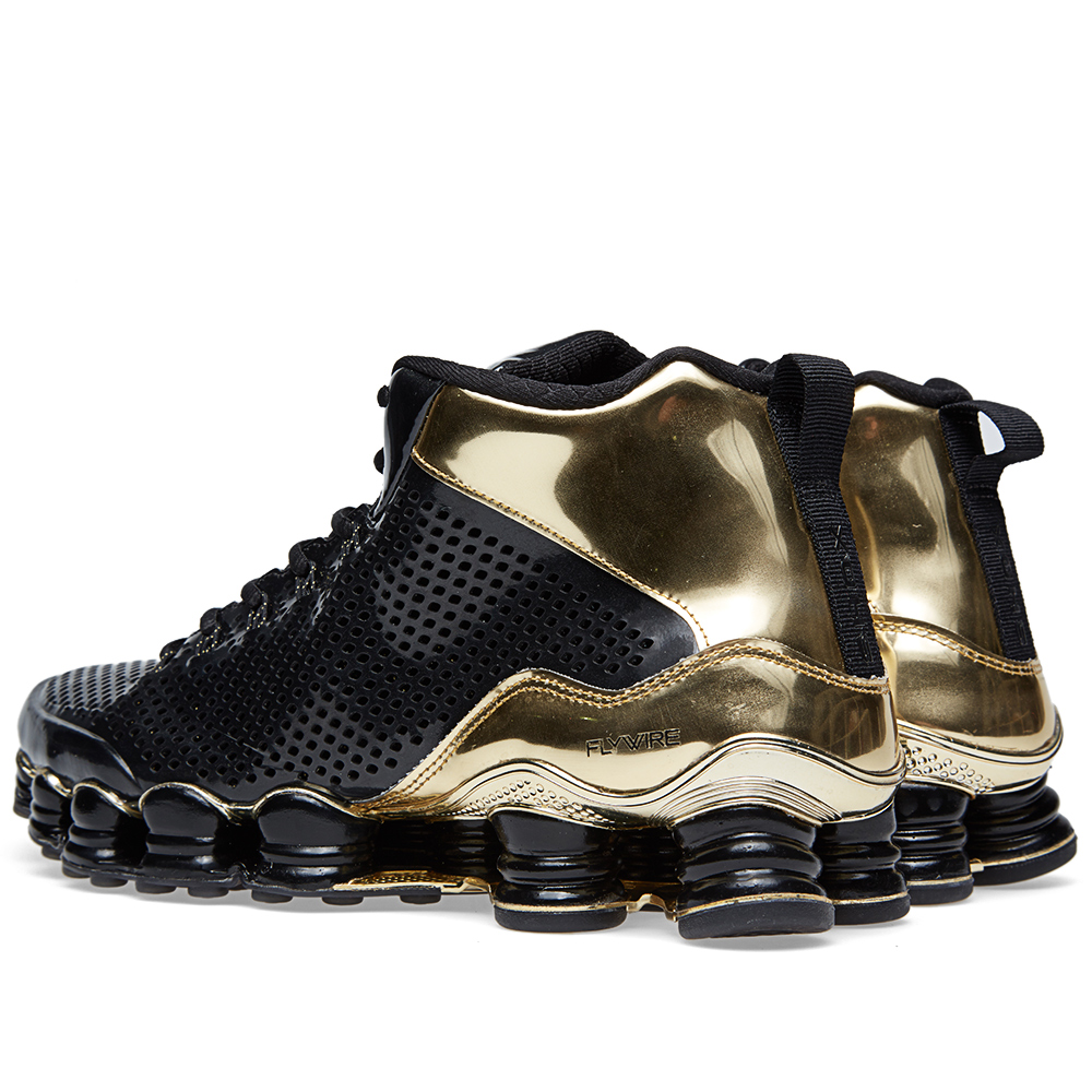 gold and black nike shox. Black Bedroom Furniture Sets. Home Design Ideas