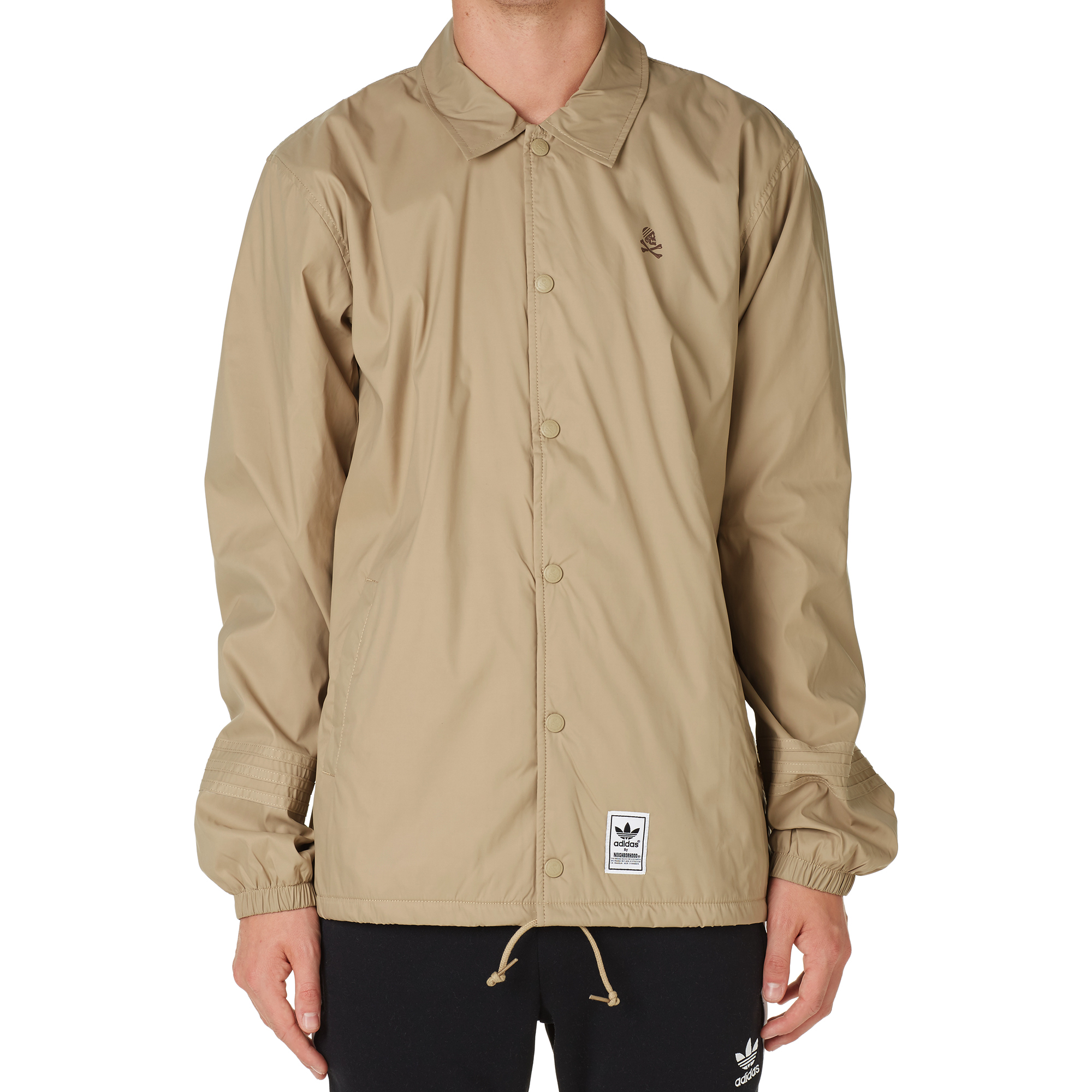 Adidas x neighborhood coach jacket hemp for Coach jacket