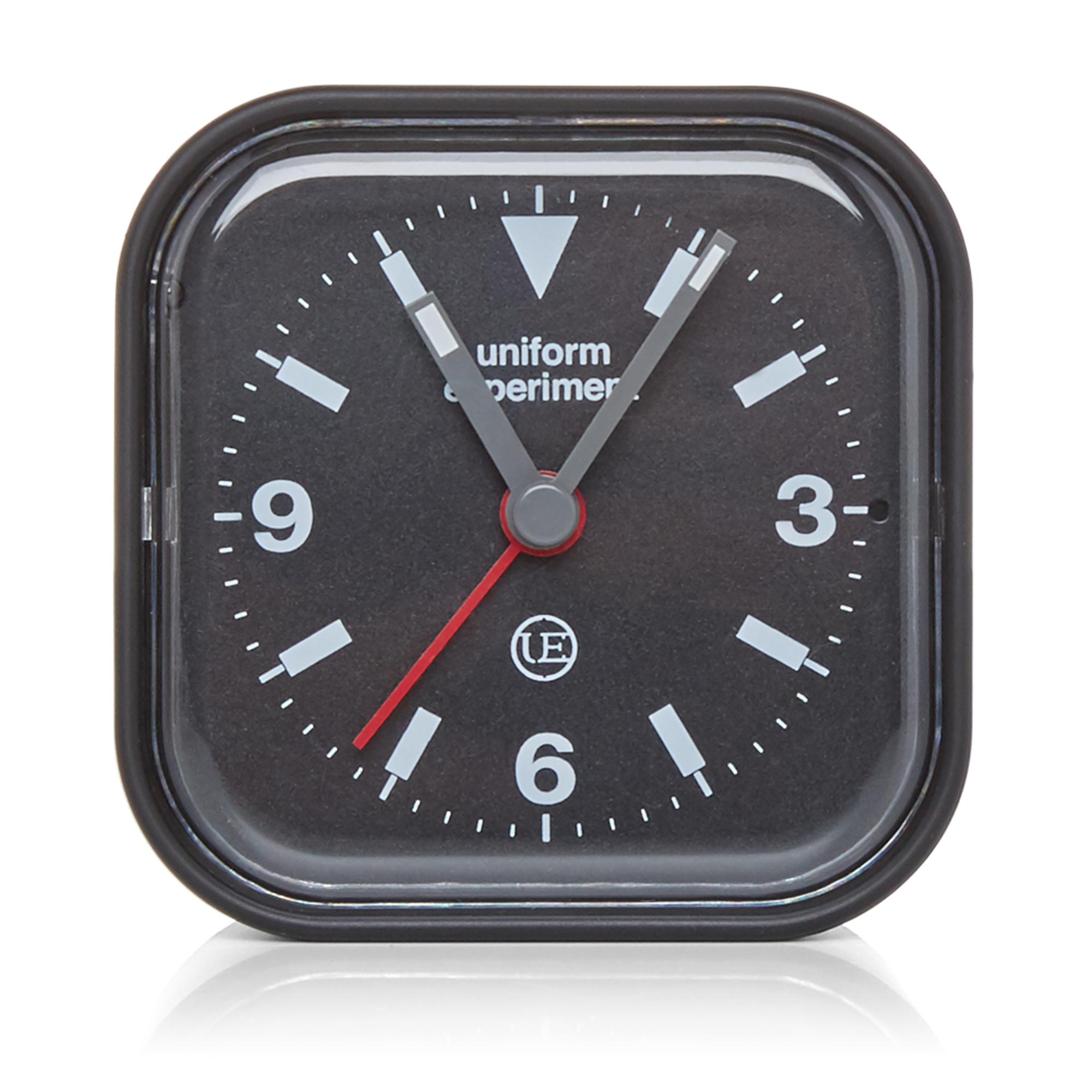 uniform experiment radio alarm clock black. Black Bedroom Furniture Sets. Home Design Ideas