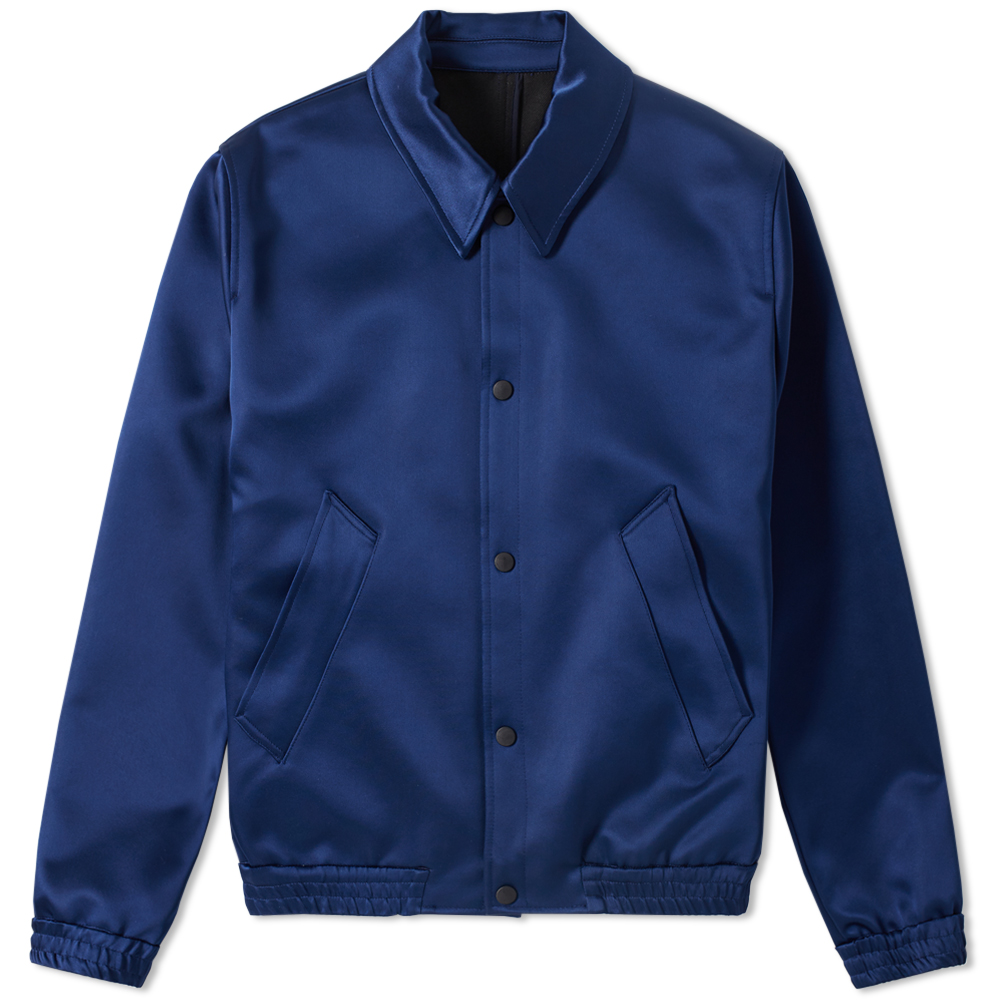 AMI Unlined Snap Jacket