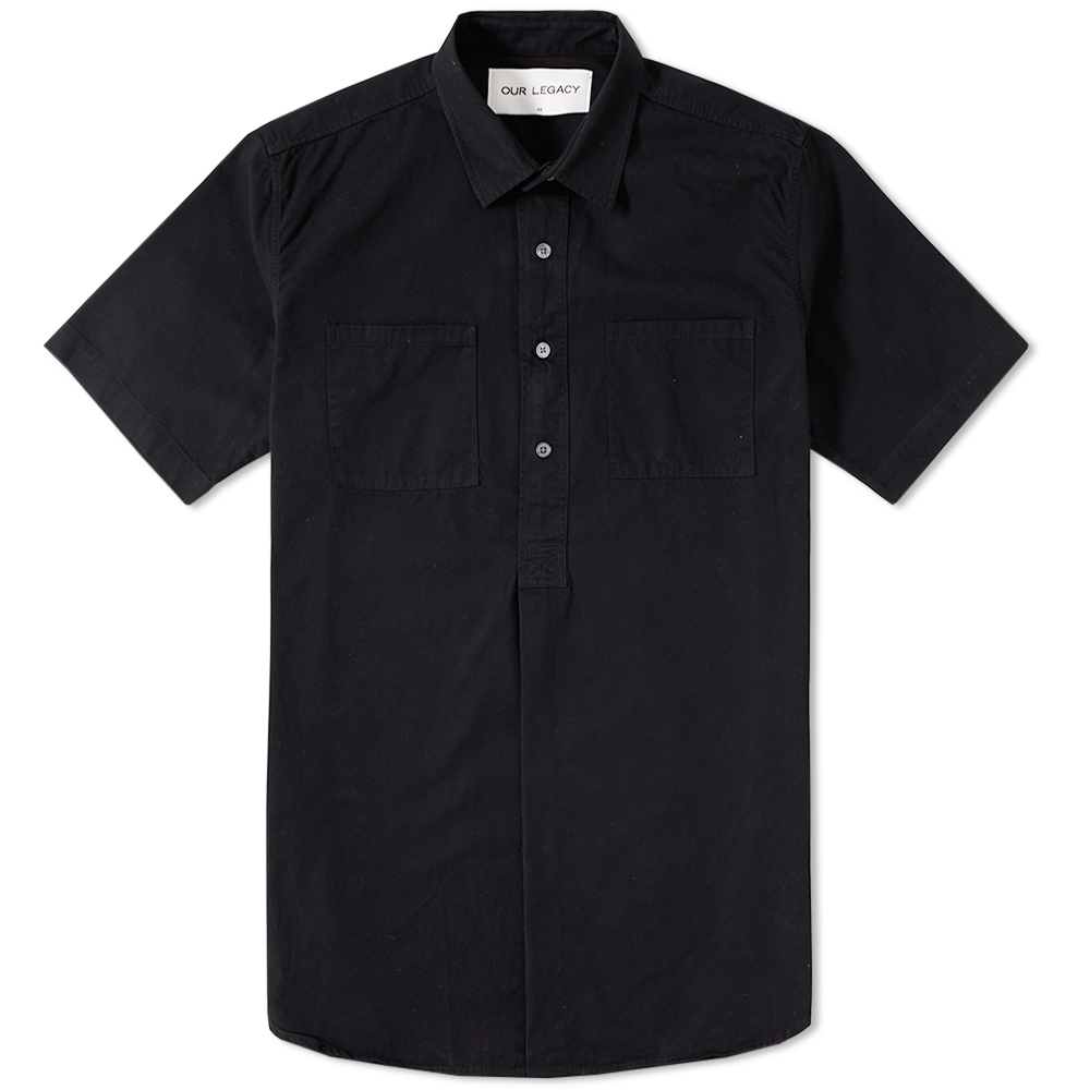 Our Legacy Short Sleeve Popover Shirt Coat