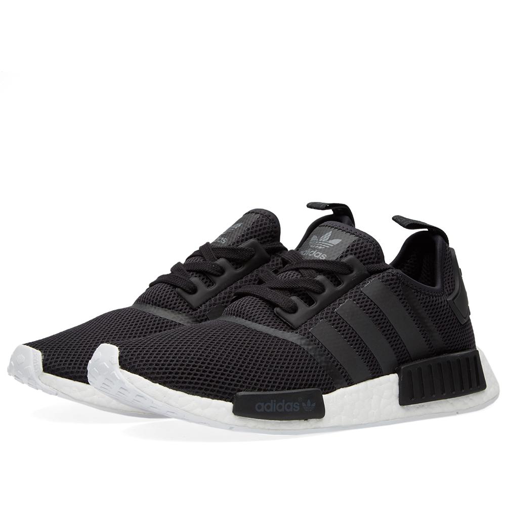 adidas nmd runner black black white. Black Bedroom Furniture Sets. Home Design Ideas