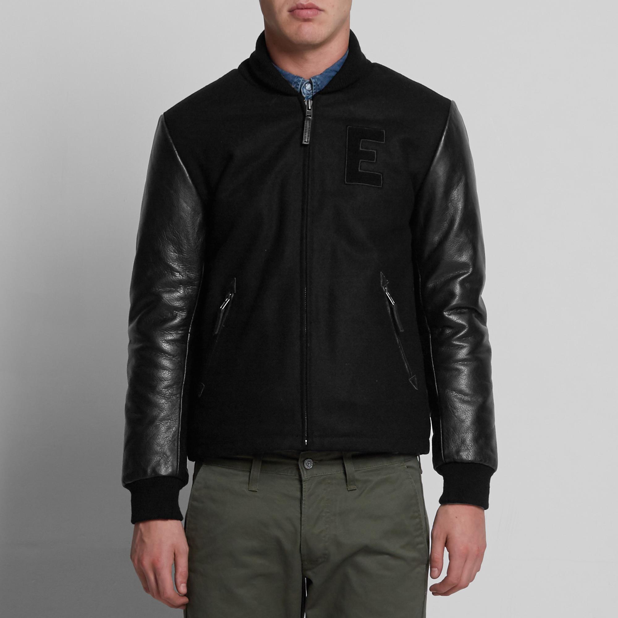 Edwin Baseball Jacket (Black)