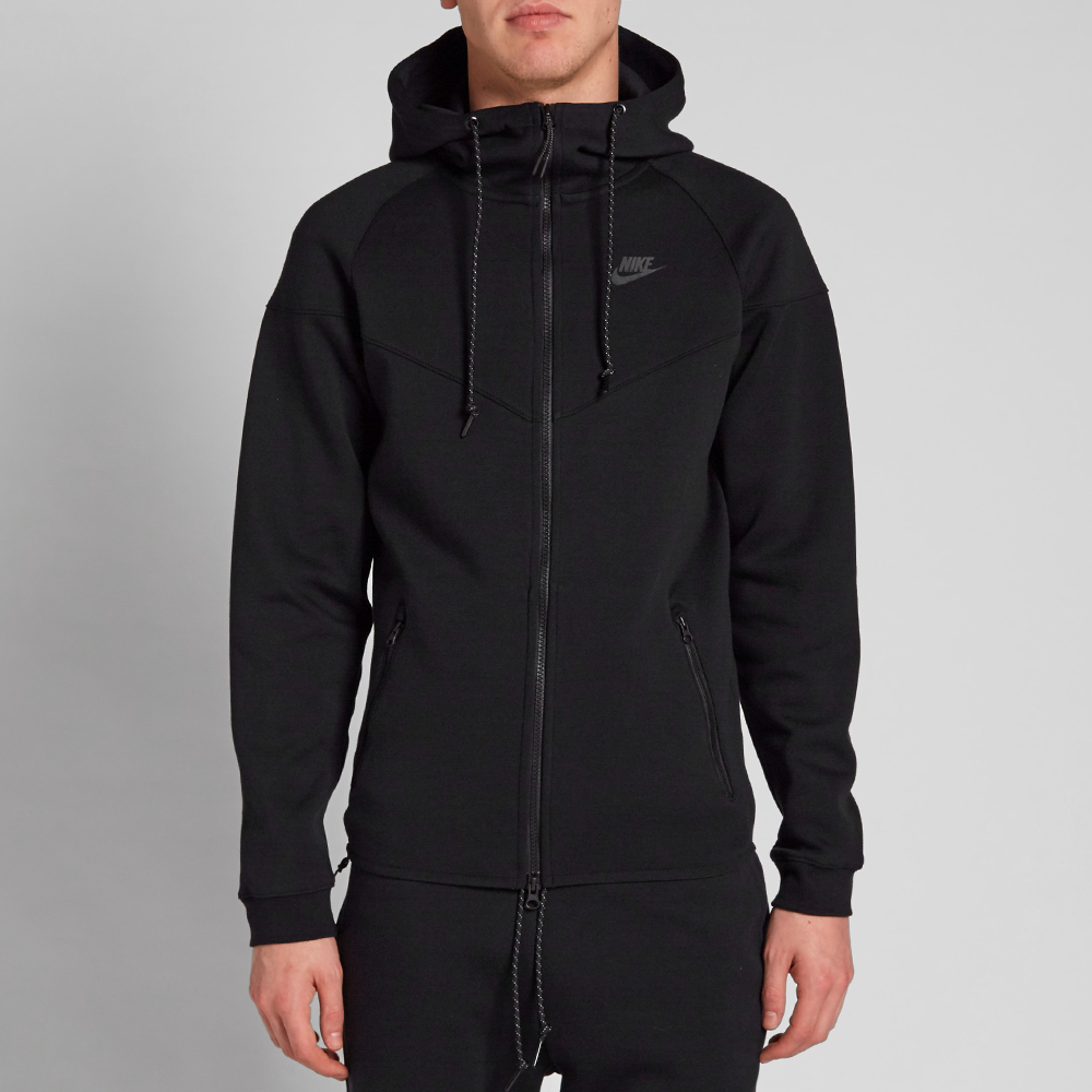 nike tech fleece windrunner black. Black Bedroom Furniture Sets. Home Design Ideas