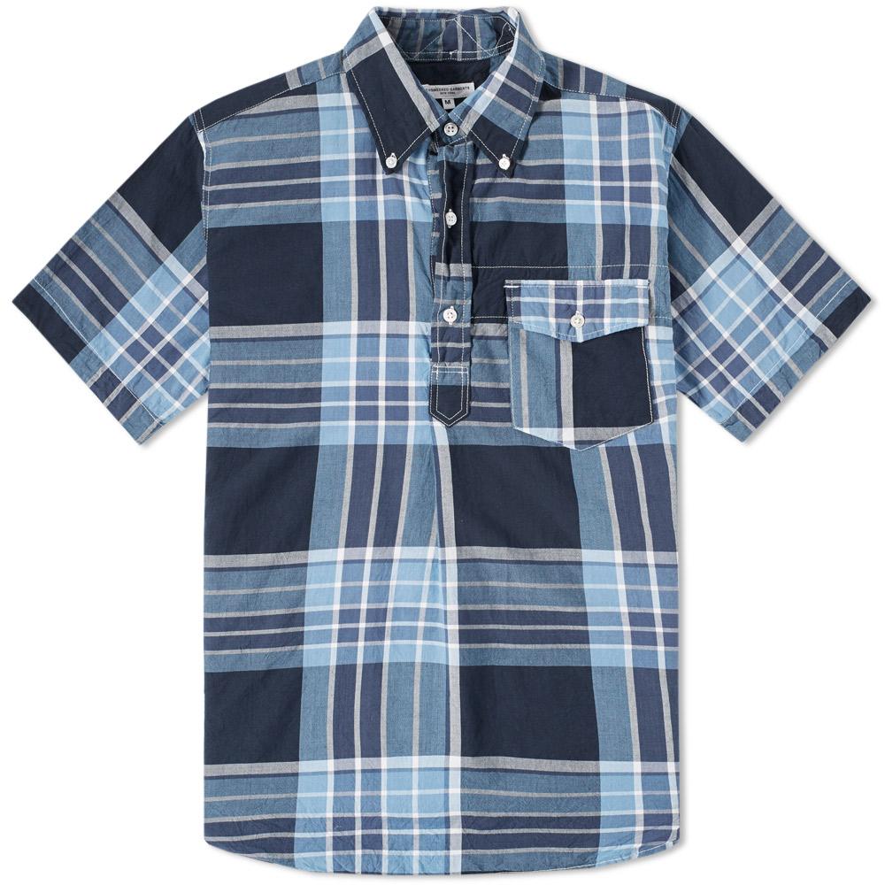 Photo of Engineered Garments Short Sleeve Popover Shirt - Engineered Garments men's fashion online