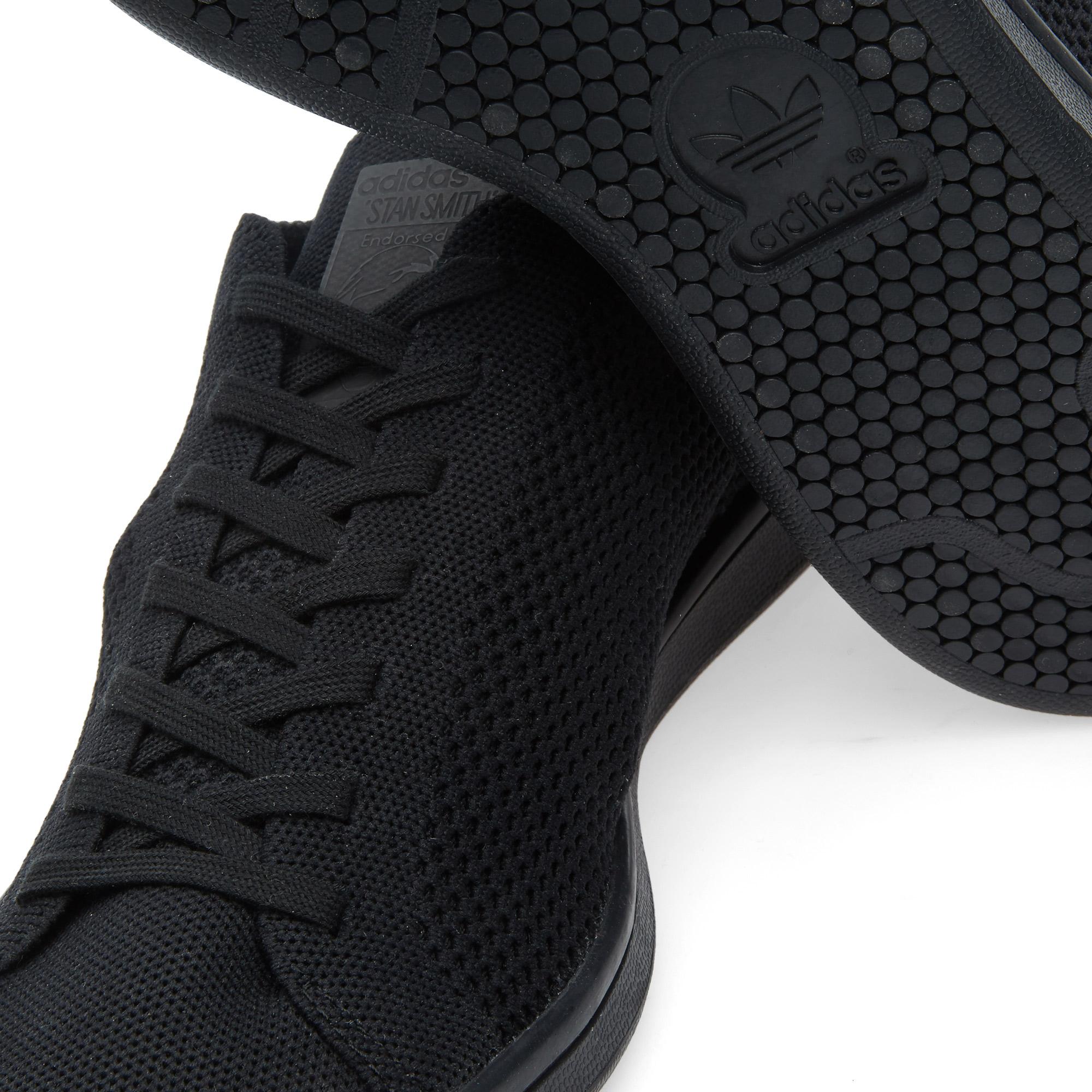 Adidas Stan Smith Knit Black