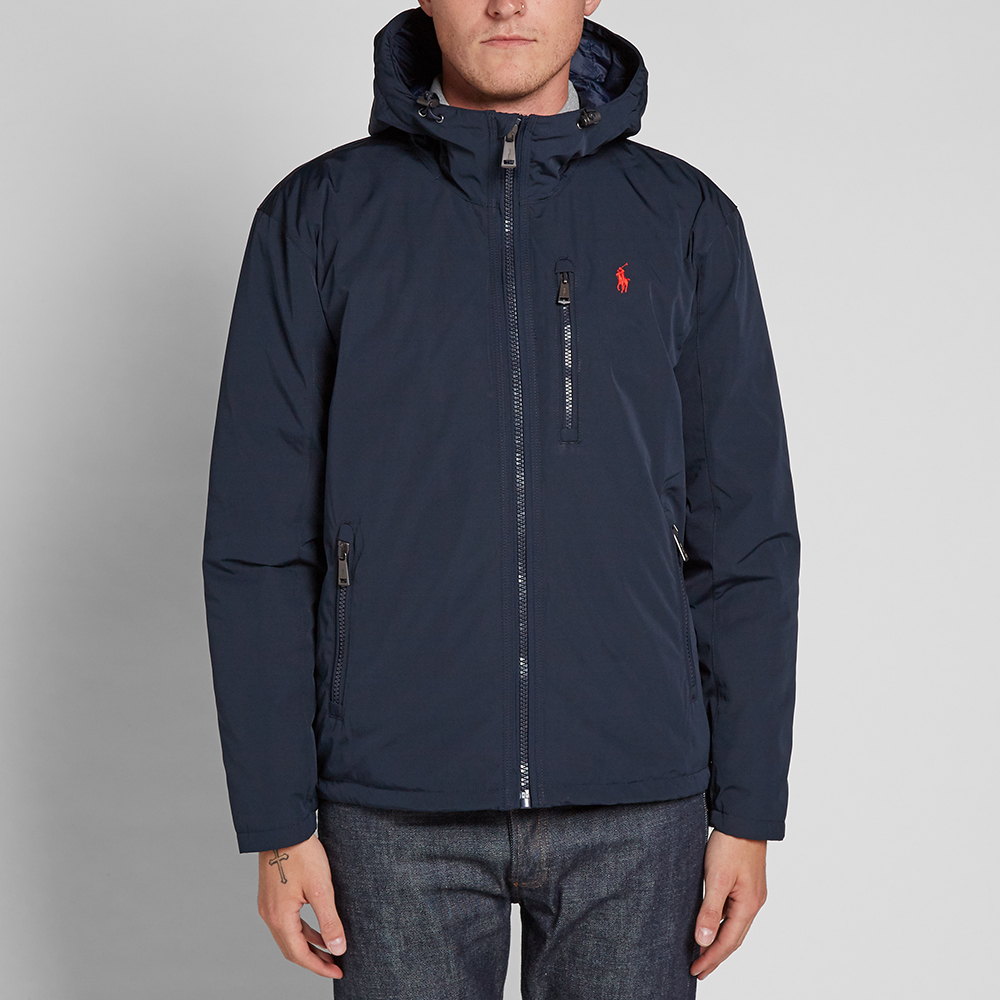 Polo Ralph Lauren Lightweight Hooded Down Jacket (Navy)