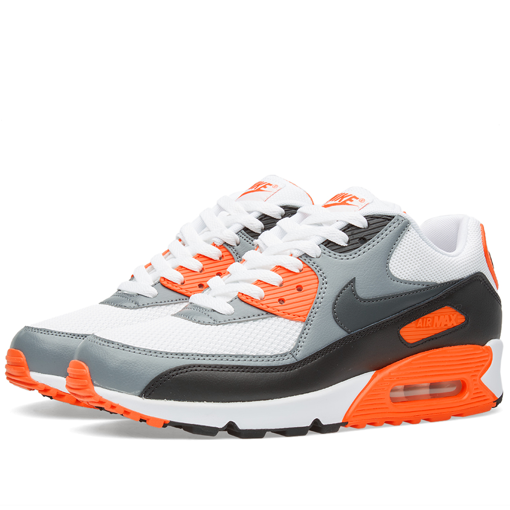 nike air max 90 essential white anthracite cool grey. Black Bedroom Furniture Sets. Home Design Ideas