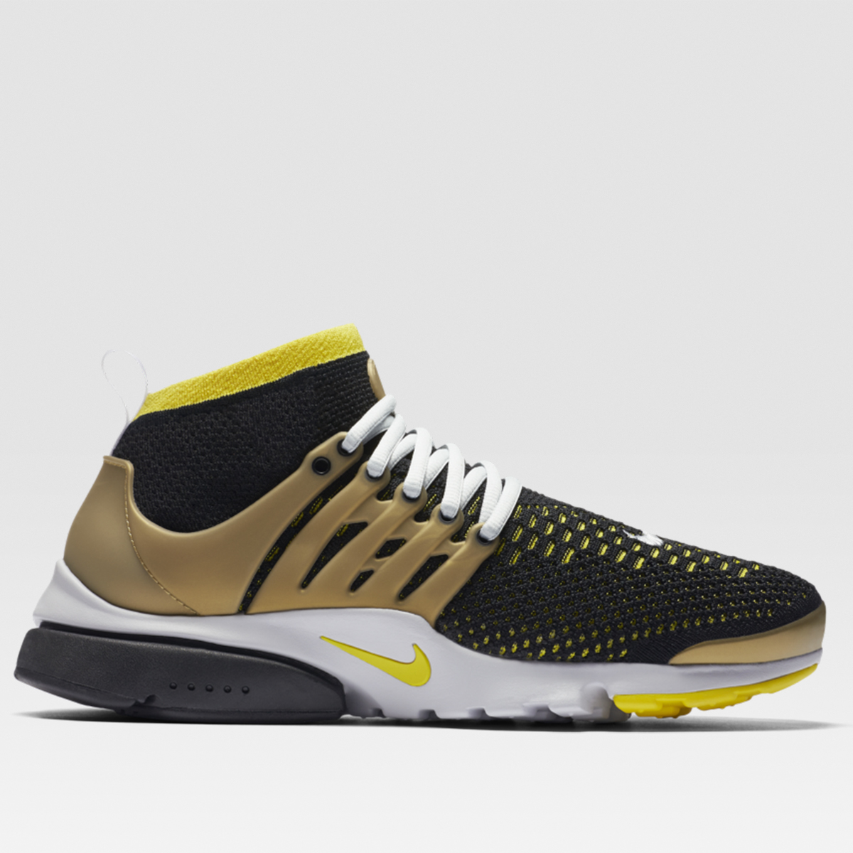 Air Presto Flyknit Ultra (Black/ Yellow)