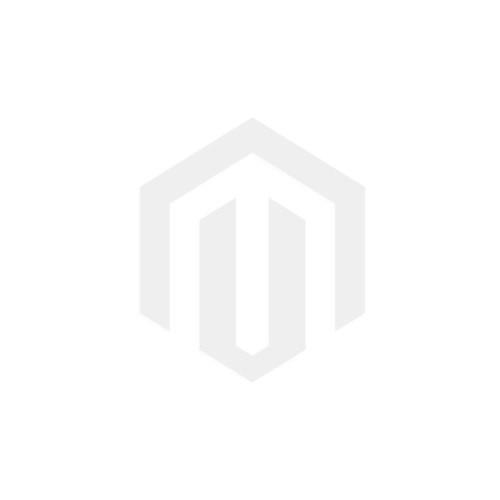 Miansai Silver Tone Hook Leather Bracelet