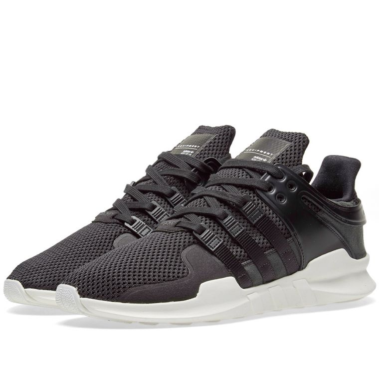 Women Black EQT Boost Shoes adidas UK Sylt Support