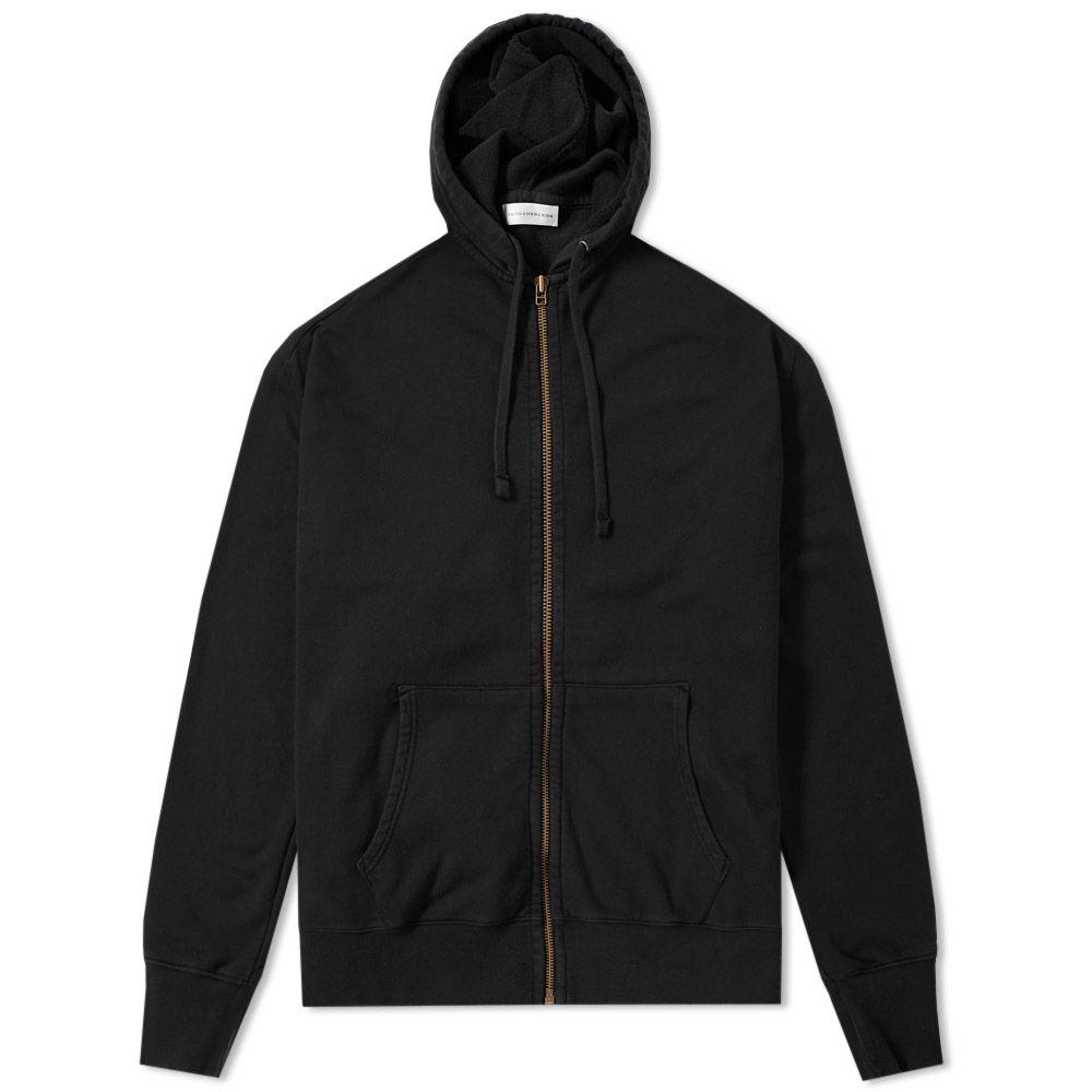 Faith Connexion Men's Black Laced Zip Hoody