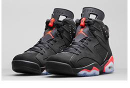 Nike Air Jordan VI Retro 'Black/Infrared23′