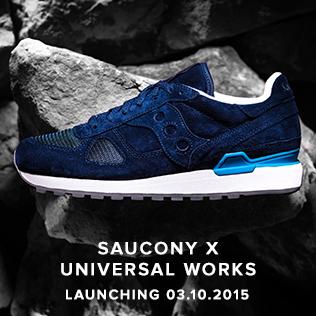 Saucony X Universal Works I