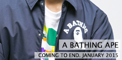 BAPE Coming Soon