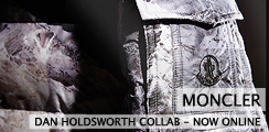 Moncler x Dan Holdsworth