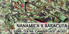 Nanamica x Baracuta