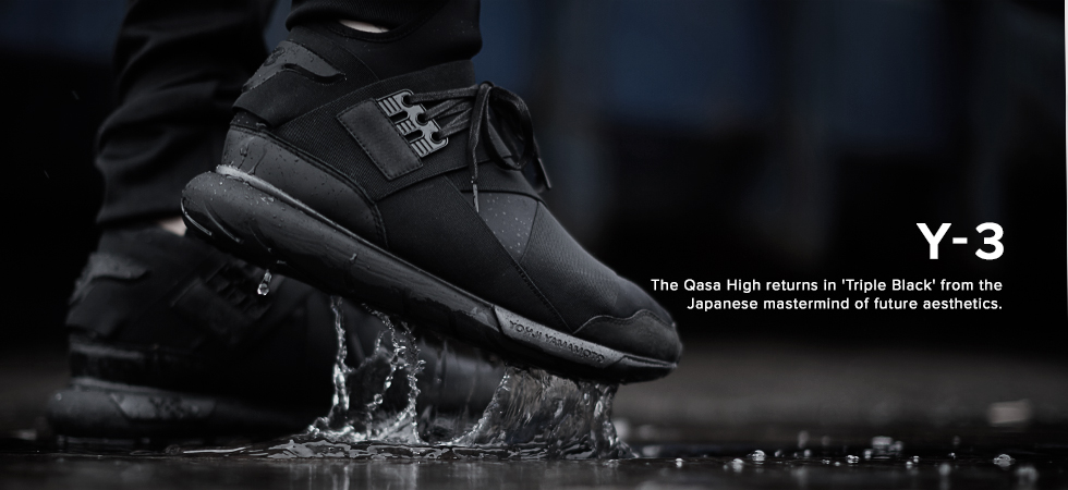 Y-3 Qasa High 'Triple Black'